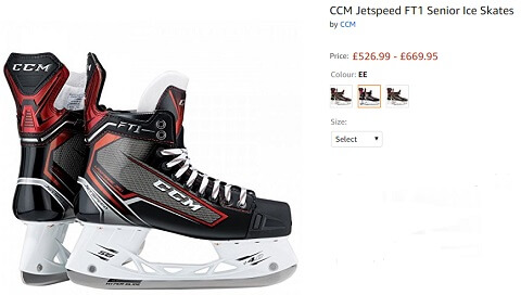 ccm jetspeed ft series ice skating shoes