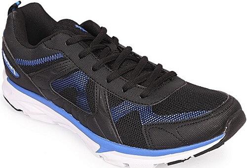 Apex Sprint Black Artificial Leather Running Sneaker For Men
