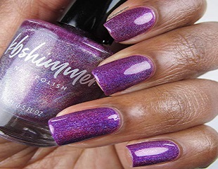 kbshimmer purple orchidding