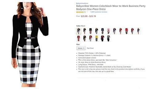 babyonline wear to work business party bodycon dress