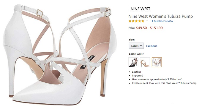 nine west tuluiza pump best summer shoes for womens