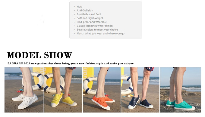 Top 15 Best Summer Shoes for Men's and Women's Review in 2019