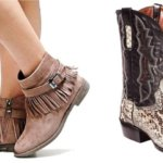 western shoes and types of western dresses