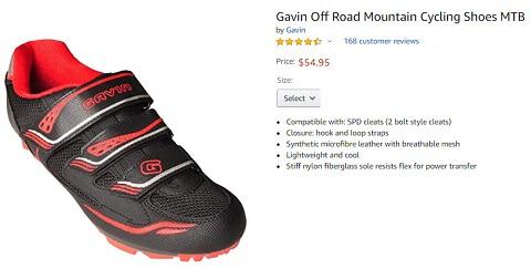 gavin off mtb road mountain cycling shoes