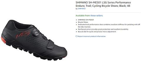 shimano sh me501