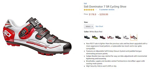 sidi dominator 7 sr mountain nike shoes