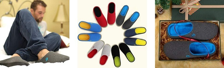 rockdove most comfortable slippers for men