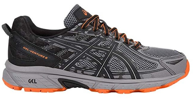 asics gel venture 6 running shoes for mens and womens