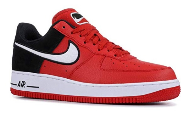 Nike Air Force 1 LV8 Men's Leather Casual Shoes Red/White/Black